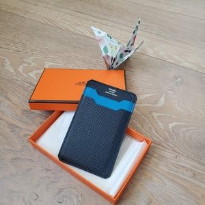 Hermés 2Way Leather Card Holder